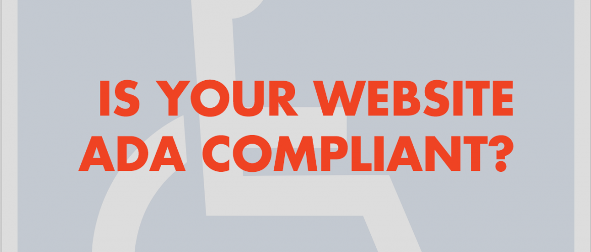 Is your website ADA compliant?