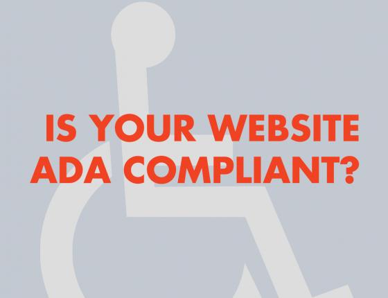 Is your website ADA compliant?